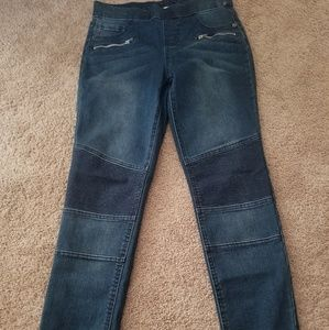 Justice motorcycle jeans